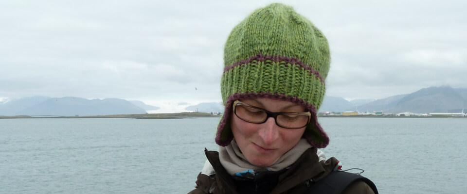 Mütze aus Lopi Islandwolle