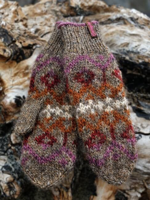 Handschuhe Norður - Fjallagrös - Léttlopi
