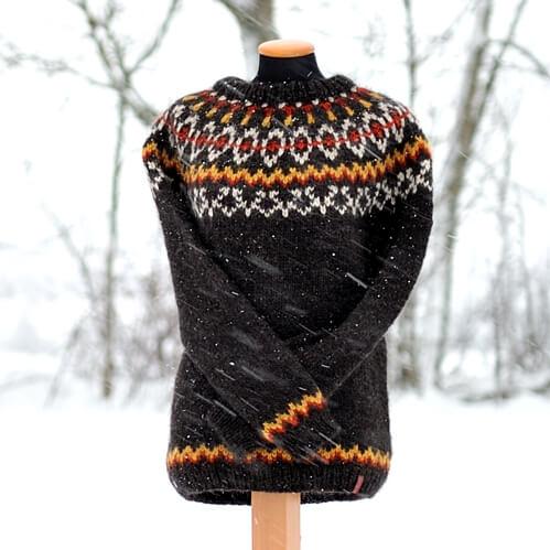 Pullover Hvammur - Álafosslopi