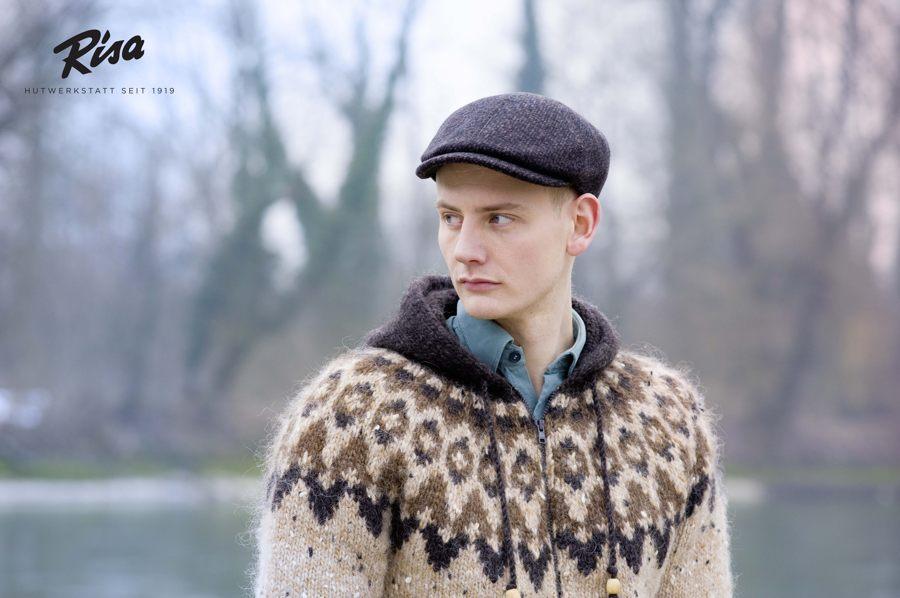 Fotoshooting für den Winterkatalog der RISA Hutwerkstatt - Frost / Lopi 29 - Álafosslopi
