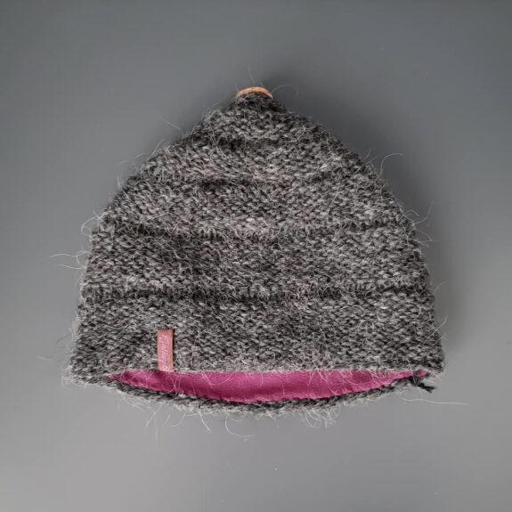 Mütze Wald grau