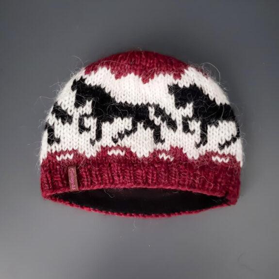 Mütze Hestar rot